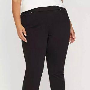 NWT Catherine's Black Stretch Jeans Plus 3X 26-28W